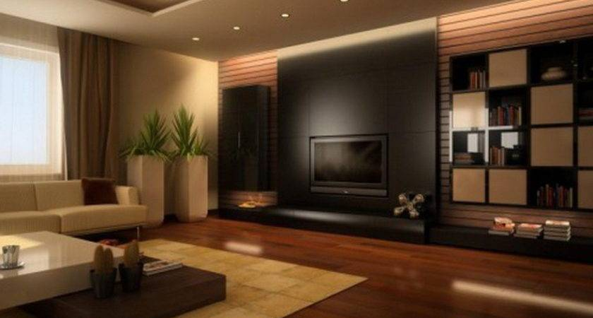 Living Room Color Combination Brown Paint