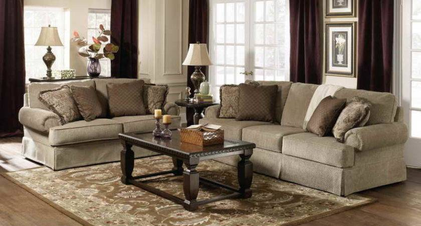 Living Room Cozy Look Traditional