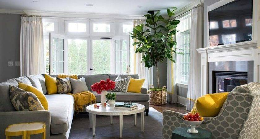 Living Room Creative Gray Ideas Decorating