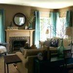 Living Room Decorating Ideas Teal Brown Decoration