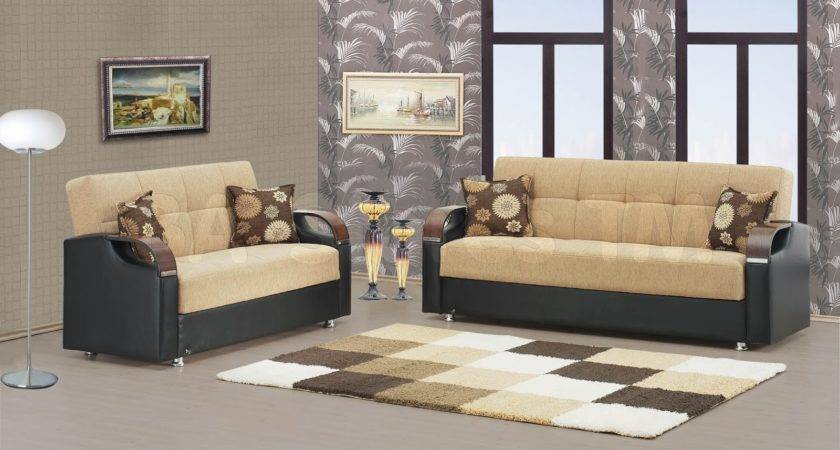 Living Room Design Leather Sofa
