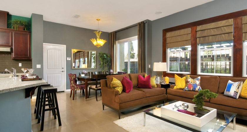 Living Room Dining Combo Decorating Ideas