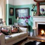 Living Room Eclectic Victorian Villa House Tour