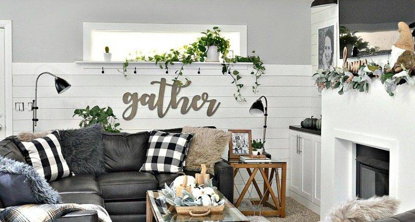 Living Room Farmhouse Decor Ideas Home