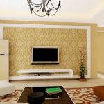 Living Room Interior Design Wall Pastoral Style