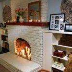 Living Room Luxury Fireplace Decorating
