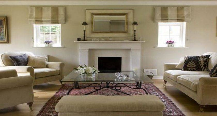 Living Room Modern Fireplace Decorating