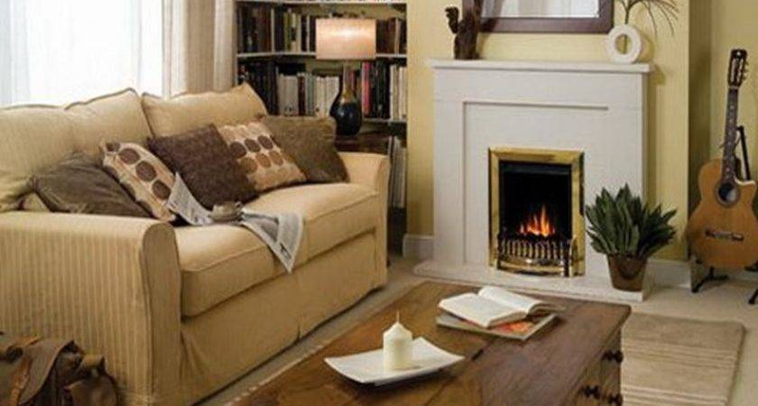 Living Room Nice Fireplace Decorating Ideas