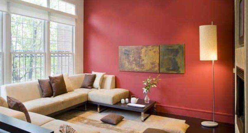 Living Room Paint Accent Wall Modern House