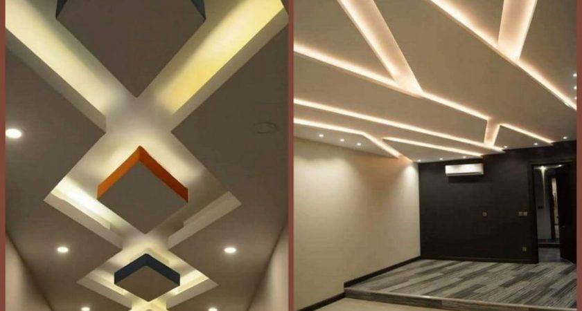 Living Room Simple Ceiling Roof Design Modern Homes Decor