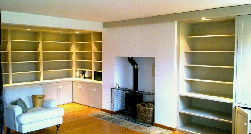 Living Room Wall Cabinets Home Storage