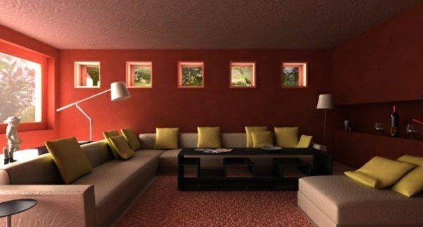 Living Room Wall Color Such Finding Maroon