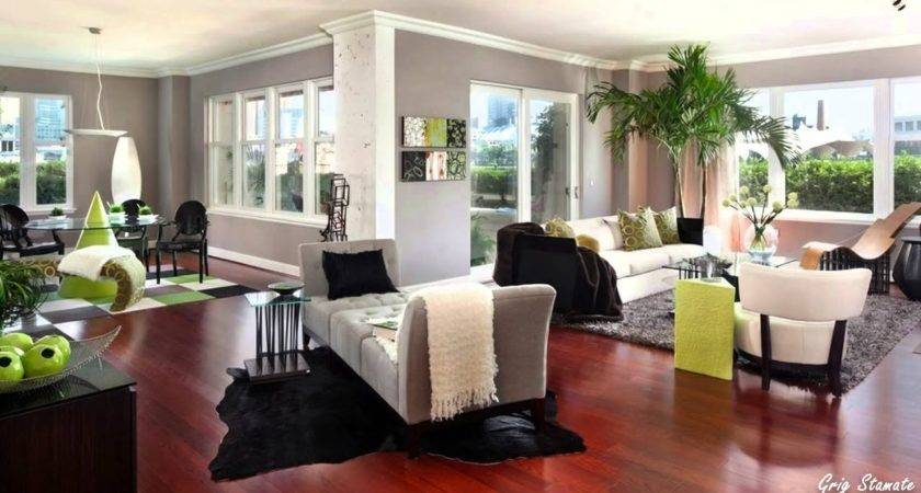 Living Rooms Gray Walls Youtube