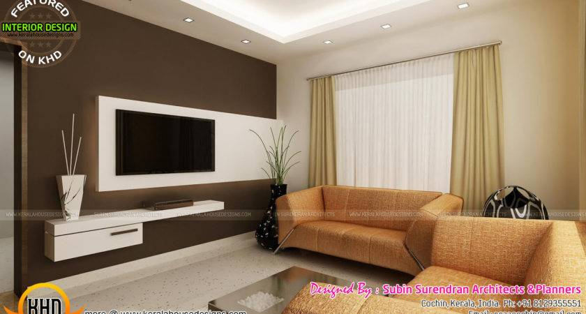 Living Rooms Modern Kitchen Interiors Kerala