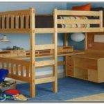 Loft Bed Desk Plans New Best Bunk