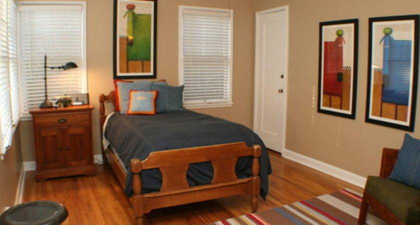 Looking Perfect Single Bed Decorating Ideas Home