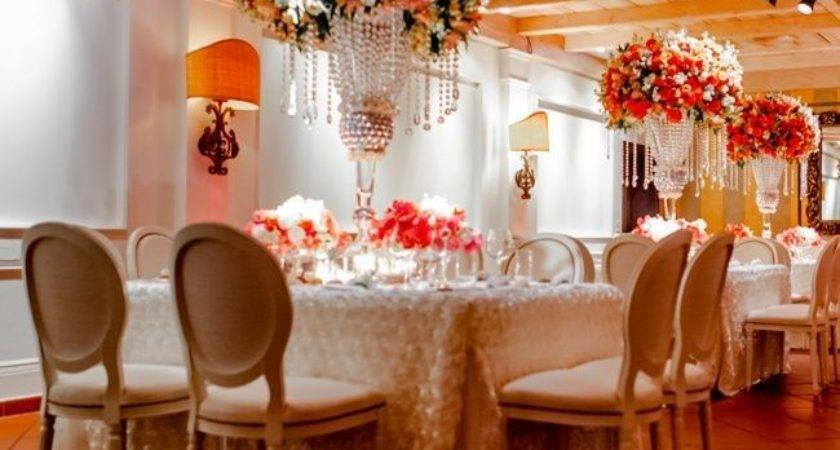 Lovable Coral Colored Wedding Decorations Decoration