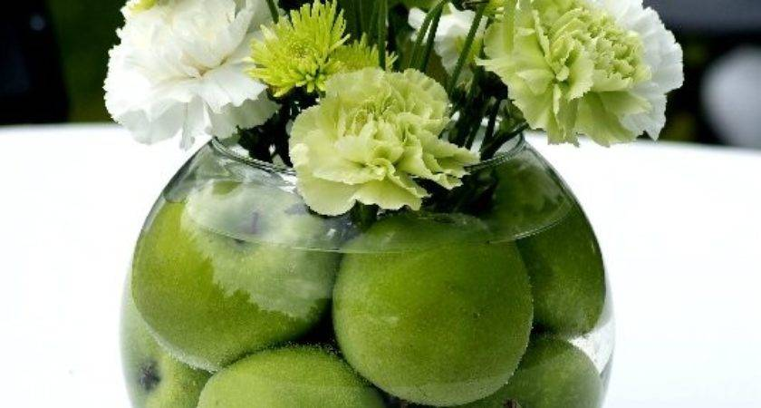 Love Small Things Diy Green Apple Centerpiece