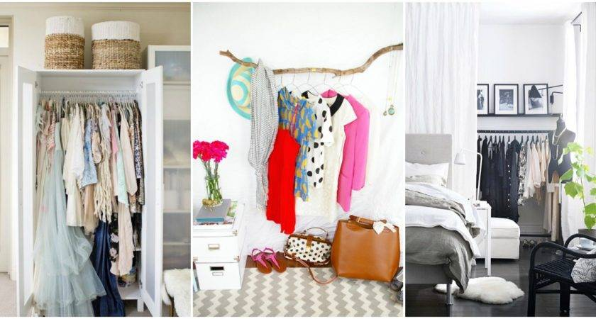 Lovely Clothing Storage Ideas Small Bedrooms Creative