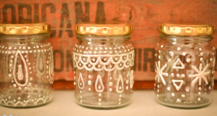 Loving Decorated Jars