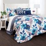 Lush Decor Floral Paisley Piece Comforter Set Bedding