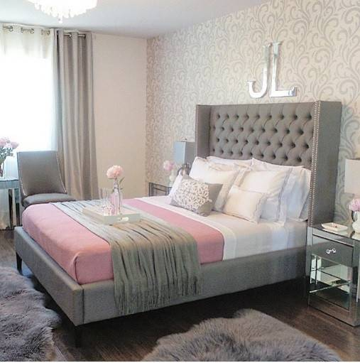 23 Best Grey Bedroom Ideas And Designs For 2020: Lush Fab Glam Blogazine Pretty Pink Home Decor