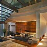 Luxurious Glass House Impressive Walls