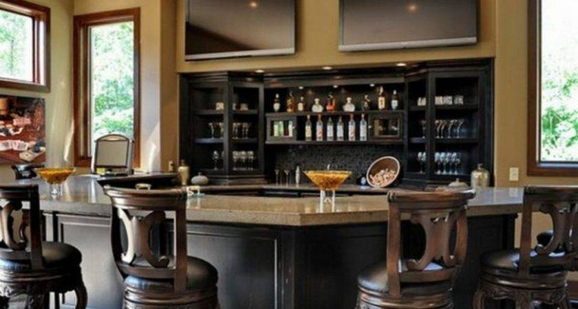 Luxurious Home Bar Design Ideas Modern