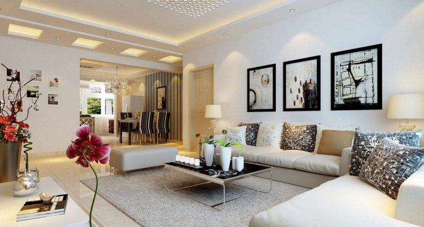 Luxurious Modern Living Room Design Ideas