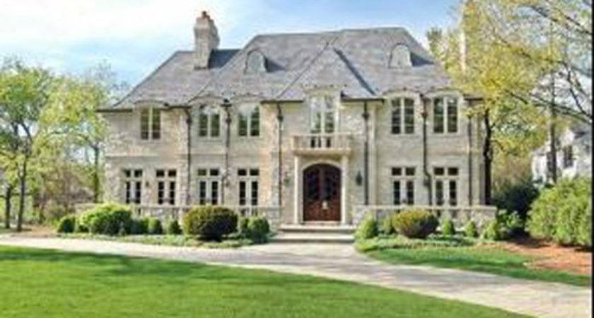 Luxury Authentic French Country Manor House Stone Cases