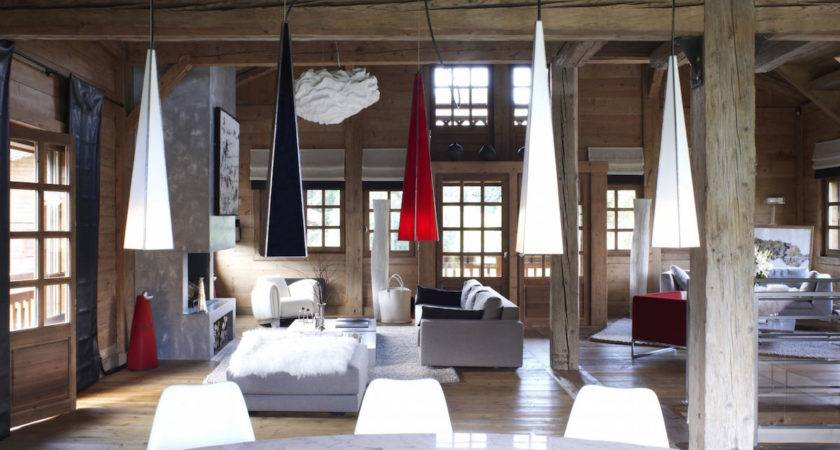 Luxury Chalet Megeve Surrounded French Alps