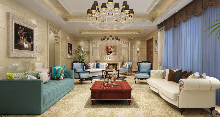 Luxury Living Room Decor Modern House