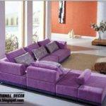 Luxury Purple Furniture Sets Sofas Chairs Living