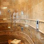 Luxury Showers Design Bookmark