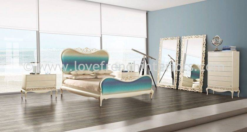 Luxus Bedroom Collection Cream Turquoise