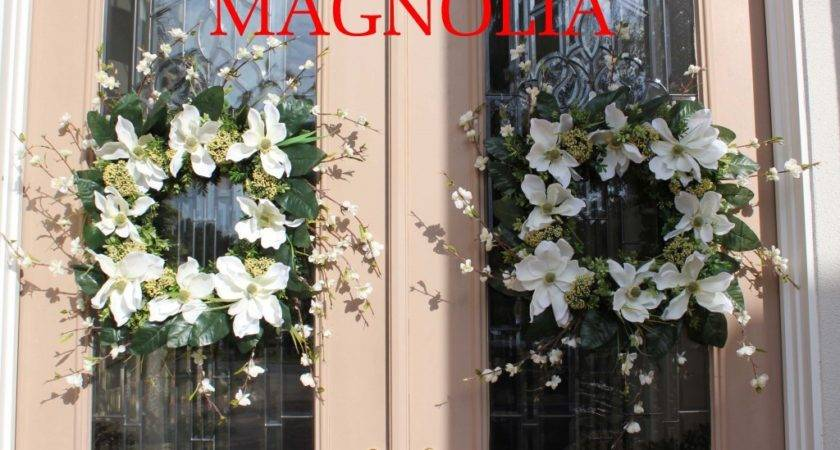 Magnolia Wreaths Unique Floral Arrangements Rose Fisher
