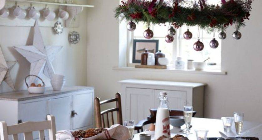 Make Country Style Christmas Decorations Modern
