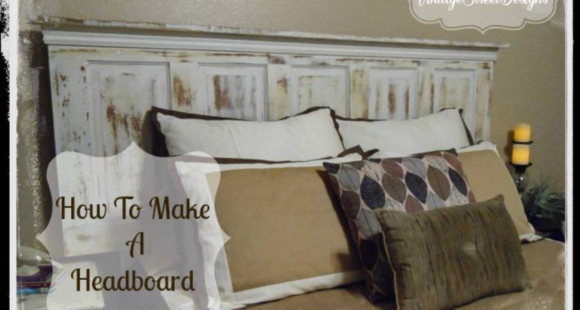 Make Headboard Tutorial