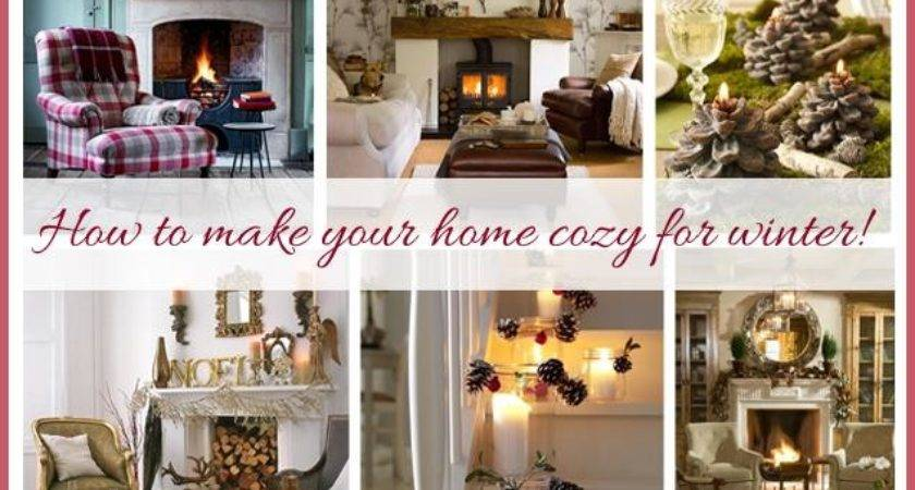 Make Your Home Cozy Winter Just Imagine
