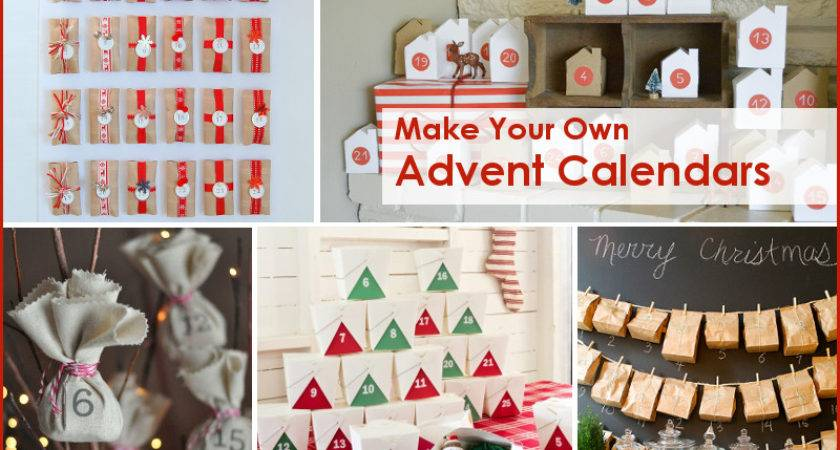 Make Your Own Advent Calendars