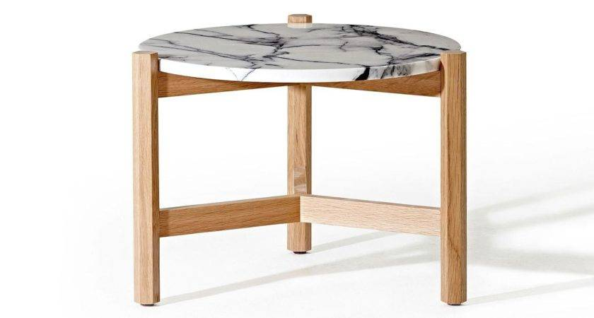 Marble Top Side Table Simple Decor References