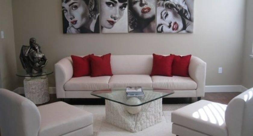 Marilyn Monroe Living Room Theme
