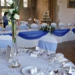 Marvellous Royal Blue Table Decorations Wedding