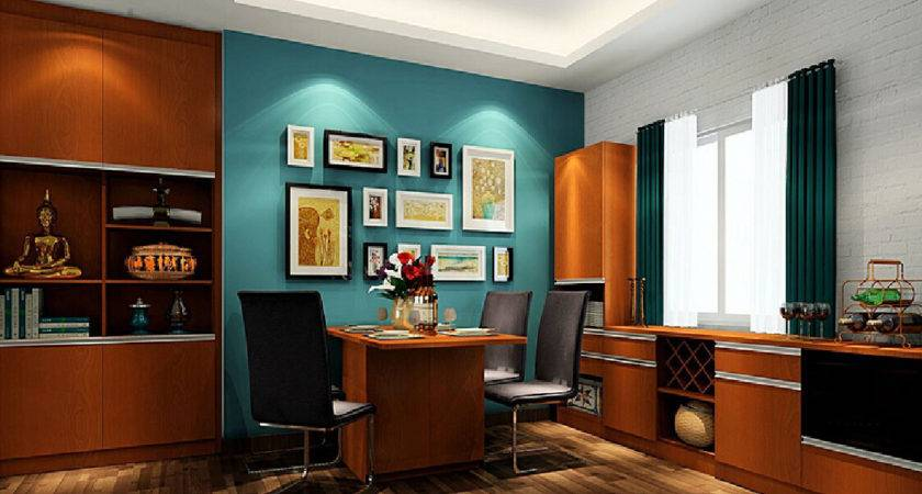 Marvelous Brown Blue Dining Room Lot More