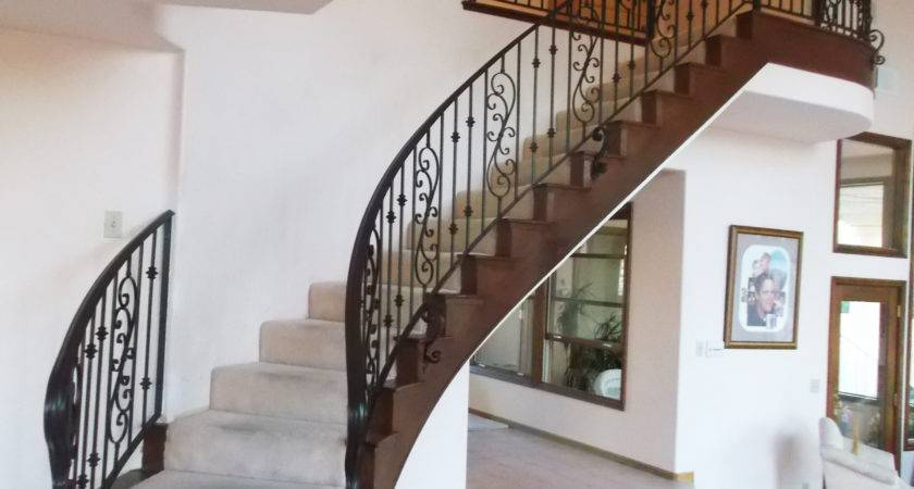 Marvelous Interior Metal Stair Railing Iron