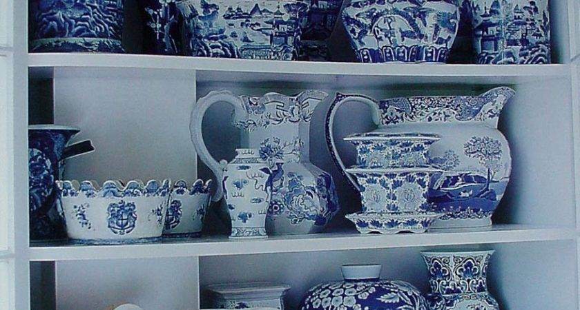Mary Maki Rae Blue White Decor