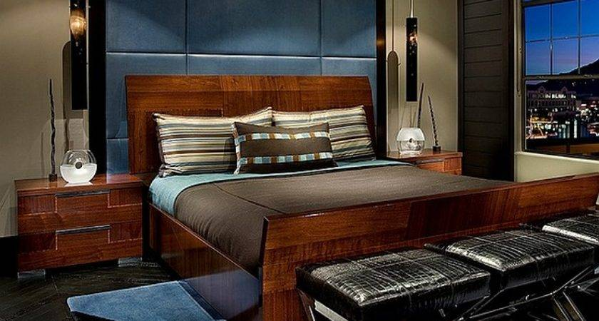 Masculine Bedroom Ideas Design Inspirations Photos