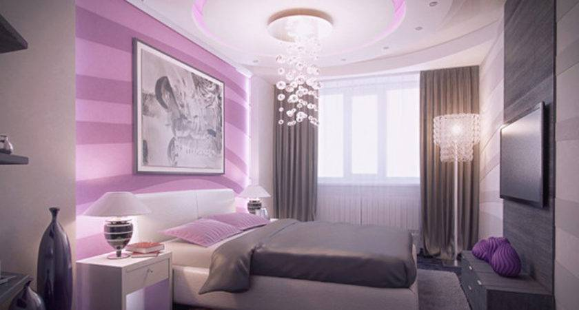 Master Bedrooms Purple Accents Home Design Lover