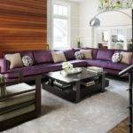 Match Purple Sofa Your Living Room Cor