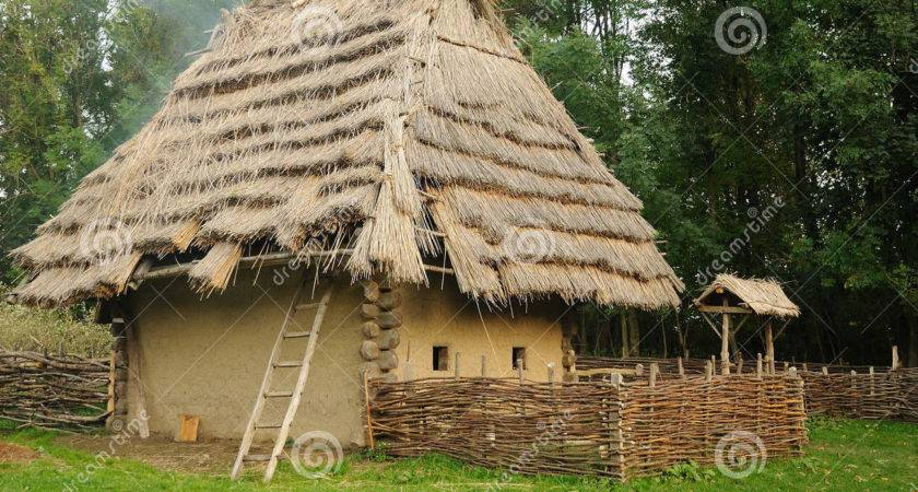 Medieval House Straw Roof